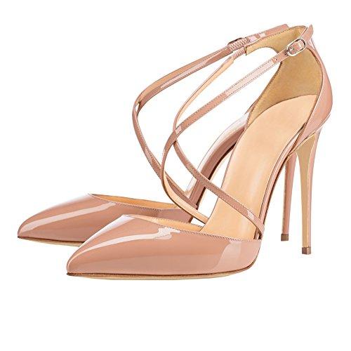 MERUMOTE - Zapatos de vestir para mujer Nackt