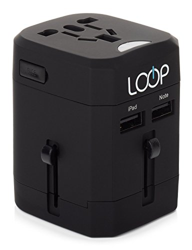 LOOP® BEST World Travel Adapter + Dual USB Charger