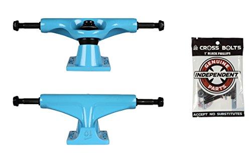 品尊敬する拒否テンソルSkateboard Trucksブルー5.0 7.63
