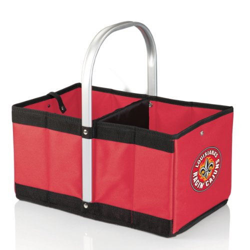 (NCAA Louisiana Lafayette Ragin' Cajuns Urban Market Basket, Red)
