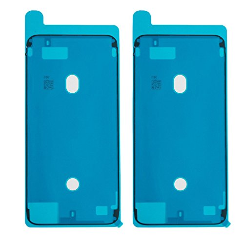 (Afeax OEM Screen Adhesive Tape LCD Display Adhesive Replacement for iPhone 8 Plus Black Front Housing Frame Waterproof Pre-Cut Seal Stickers Waterproof Repair Adhesive Glue)
