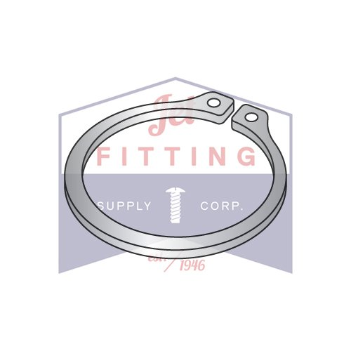 2.000 External Style Retaining Rings | Stainless Steel (QUANTITY: 100) by Jet Fitting & Supply Corp