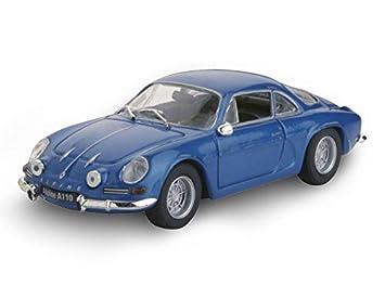 Blau Ma/ßstab 1//43 RENAULT Norev Alpine A110 1970 Druckguss-Sammlerst/ücke 2 T/üren