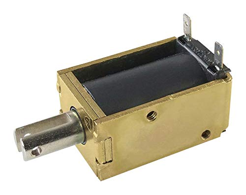 120a Solenoid - 11HD-C-120A - Linear Solenoid, 120 VAC, 165 ohm, 16 VA, 13.901 N, Pull, Continuous (11HD-C-120A)