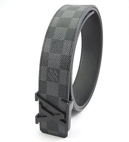 damier-graphite-belt-grey-initials-buckle
