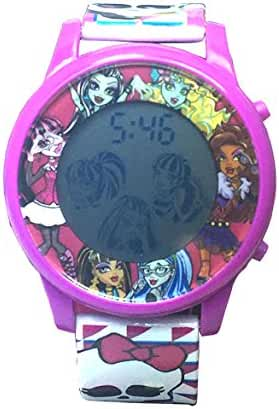 Monster High Flashing Character LCD Watch