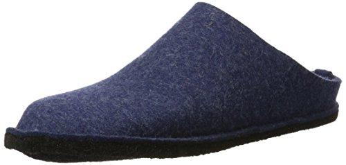 Haflinger Unisex-adult Flair Zachte Slippers Blauw (jeans 72)