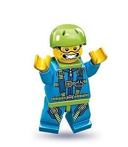 LEGO 71001 - Minifigur Fallschirmspringer aus Sammelfiguren-Serie 10