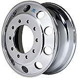 663482 Alcoa 17.5 x 6.75 Dual 8 on 275mm Polished Aluminum Trailer Wheel