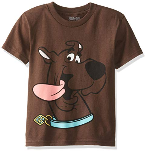 Scooby Doo Big Boys' License T-Shirt, Brown, Medium