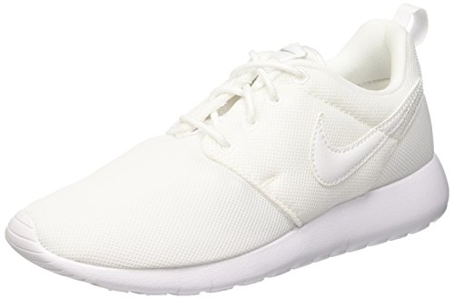 NIKE Kids Roshe One SE (GS) Running Shoe White/White/Wolf Grey RIW1wsv