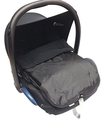 Universal-Fuß sack fü r Babyschale Maxi Cosi Pebble Schwarz For-Your-Little-One
