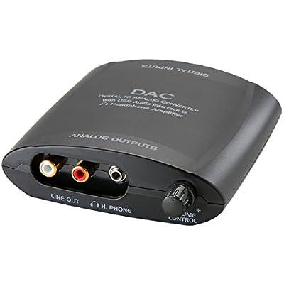 Digital to Analog Audio Converter Optical / Coaxial / USB