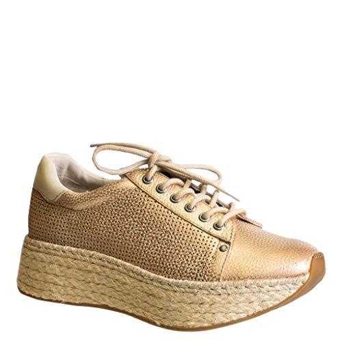 OTBT Women's Meridian Sneakers - New Gold - 7 M US