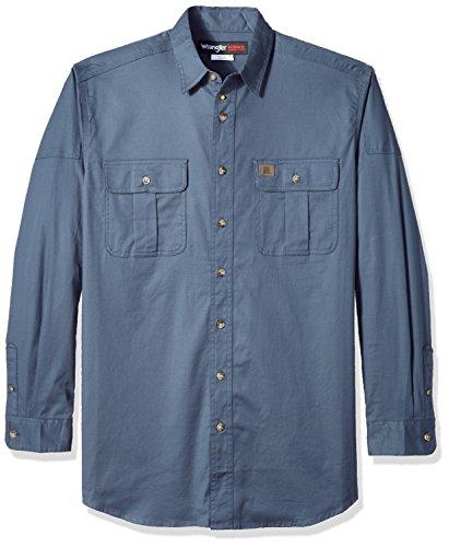 ecf008dbbd Wrangler Men s Size Riggs Workwear Tall Work Shirt