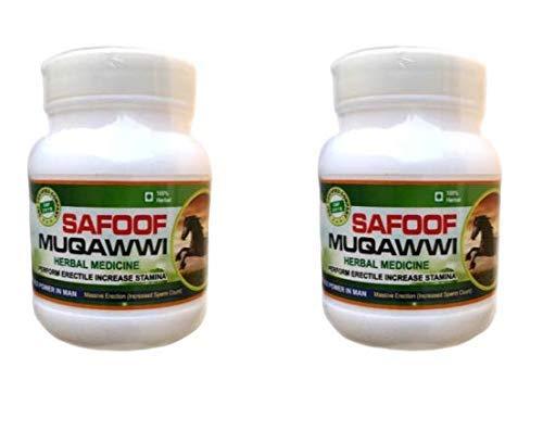 Radhe SAFOOF MUQAWWI - Dhaat Nashak-(Pack of 2 Box) Unani Herbal Ayurvedic Formula for Strength & Vigour
