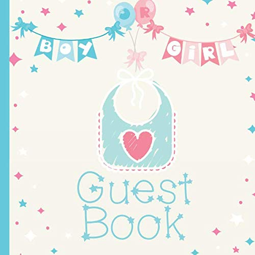 Guest Book: Gender Reveal Party Guest Book Includes Gift Tracker and Picture Pages to  Create a Lasting Memory Keepsake You Can Treasure Forever -
