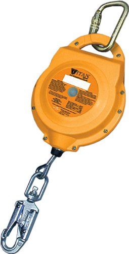Miller Titan by Honeywell TR30-Z7/30FT 30-Feet Self-Retracting Lifelines with 3/16-Inch Galvanized Wire-Rope