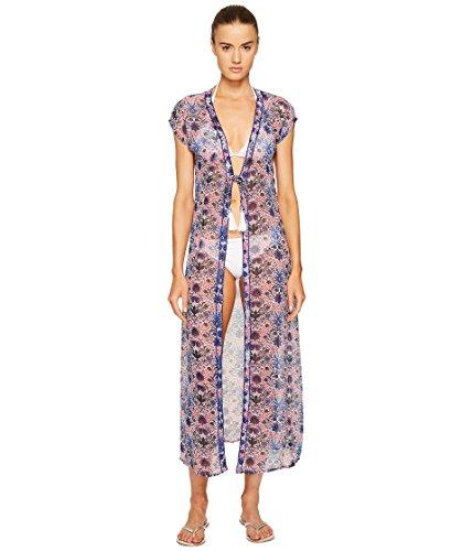 宝松の木百科事典[レタート] Letarte レディース Embellished Tie Front Tunic ドレス [並行輸入品]