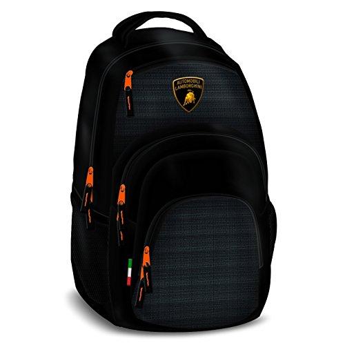 Exclusiv* Lamborghini Rucksack Schulrucksack Sportrucksack EDEL NEU 46x32x22cm