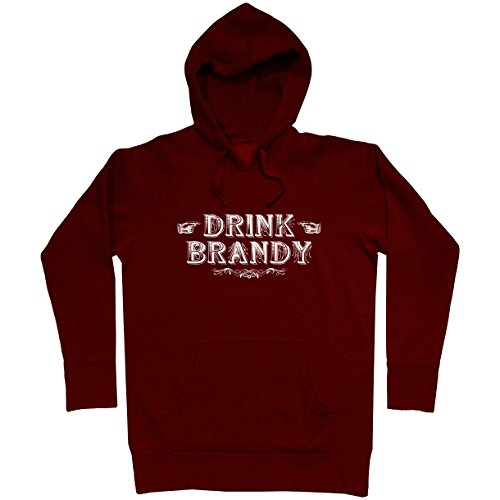 Smash Transit Men's Drink Brandy Hoodie - Maroon, X-Large
