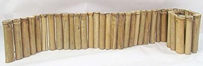 Master Garden Products Level Regular Bamboo Edging, 12-Inch x 72-Inch