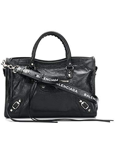 Sac Cuir Main Noir 431621db5xn1060 Femme Balenciaga À ITqOzt