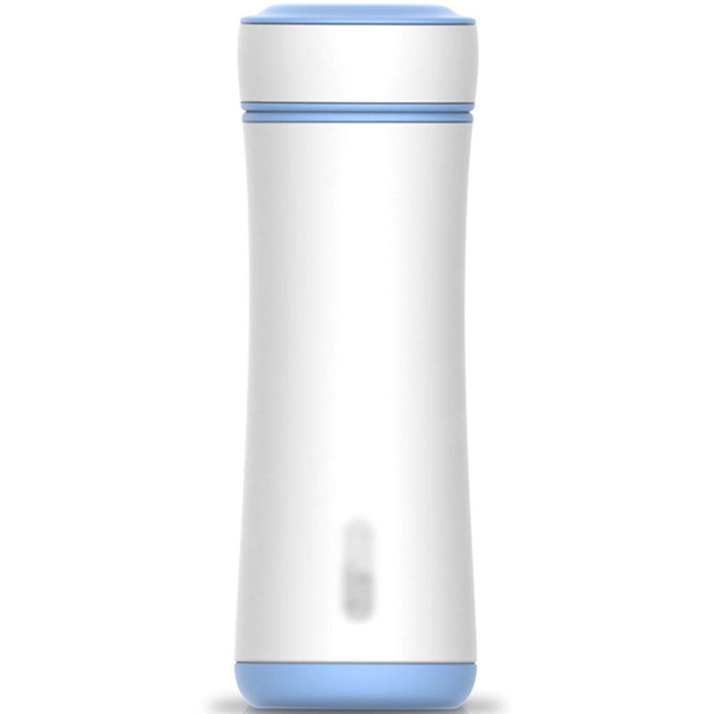 DXIUMZHP Thermos Mug,Tea Cup, Portable Mug, high-end Design, Office Mug, Environmentally Friendly Material, Long-Lasting Insulation (Color : Blue, Size : 300ML) by DXIUMZHP