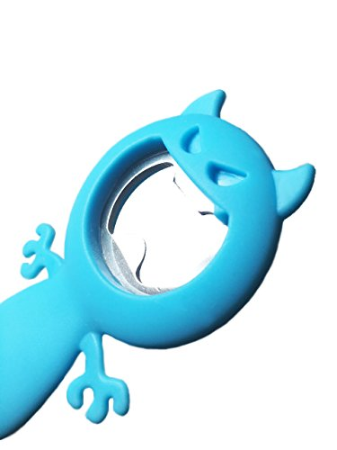 BEER BUSTER Bottle Opener (Blue) - NEW! (Beer Monster Bottle Opener)