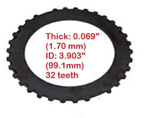 Clutch Plate, Steel, Reverse, 0.069'', 32T, Fits AOD AODE 4R70W 4R75W 1989-On