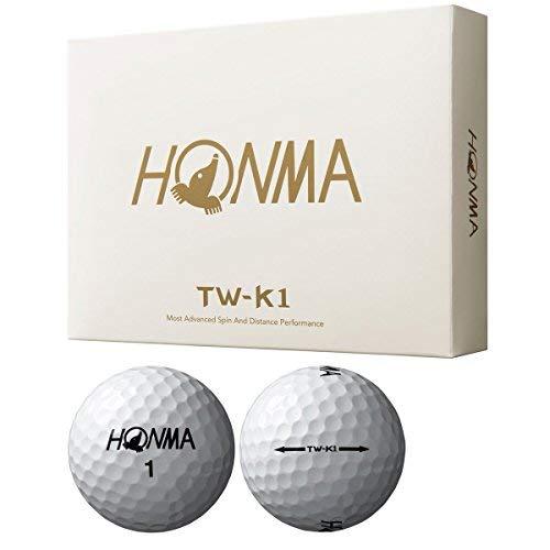 Honma TW-K1 Tour World Golf Balls 1 Dozen