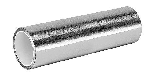 (3M 427 Shiny Silver Aluminum/Acrylic Adhesive Tape Linered Aluminum Foil Tape, 6