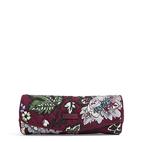 Vera Bradley Iconic On a Roll Case,  Signature Cotton, One - Case Blossom Jewelry