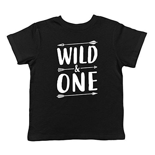 Wild & One Infant T-Shirt, SpiritForged Apparel Black 18 Months