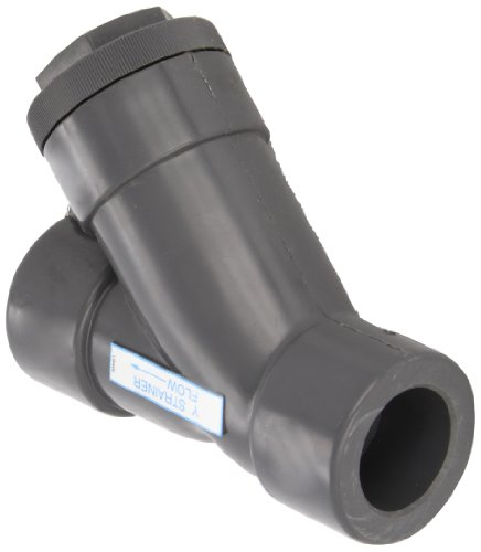 Hayward PVC Y-Strainer, FPM Seal, 1-1/4'' Socket by Hayward Flow Control