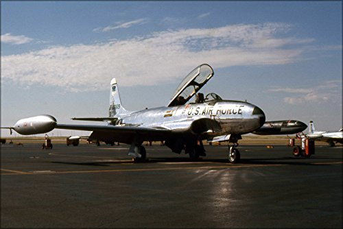 24x36 Poster . United States Air Force Academy T-33 Shooting Star Pre 1973