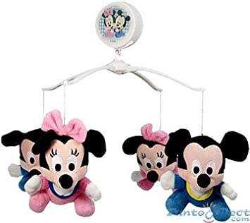 Disney Baby Mickey Mouse und Minnie Mouse Kinderbett Mobile mit ...