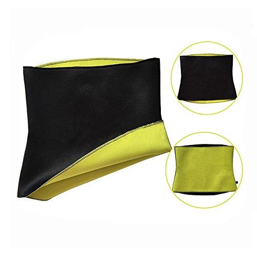Bauchweg-Gürtel Fitnessgürtel Gewicht verlieren mit Abnehm-Gürtel Damen Herren (Größe XXXL = 91 - 96 cm Taillenumfang)