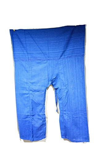 Thai Fisherman Pants Yoga Trousers Free Size Plus Size Cotton - Jacket Half Sale Oakley