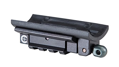 Caldwell Pic Rail Adaptor Plate with Durable Construction and Picatinny Rail Attachment for Outdoor, Range, Shooting and Hunting ()