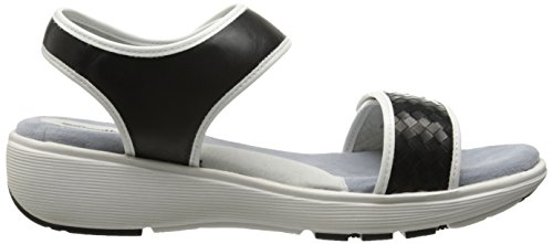 sandalias Black cuña Softwalk Elevate White de FwTz7gzq