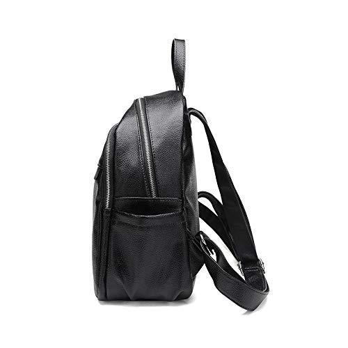Casual Mini Black Sac Sac De À À Dos Quotidien Femmes Bandoulière Sac Mode Dos À wqHHI4g