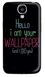 I Love You DIY Custom PC Hard Case for Samsung Galaxy S4 / I9500
