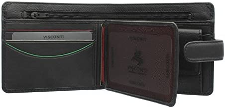 Visconti Heritage Collection STRAND Leather Wallet With Tab Closure HT13
