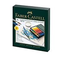 Faber-Castell Albrecht Durer Lápiz de acuarela Studio Set de regalo, caja de 36 colores (FC117538)