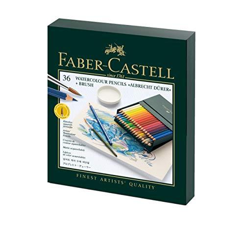 Faber-Castell Albrecht Durer Watercolour Pencils Gift Box x 36 Colours &...