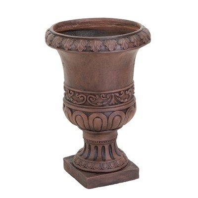 Brown Turkish 26 in. Urn Planter