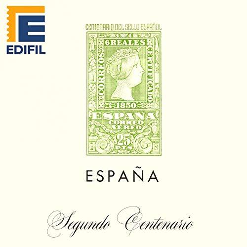 EDIFIL Juegos Hojas Álbum de Sellos España. Segundo ...