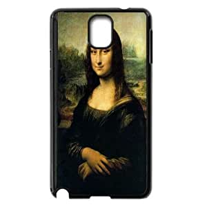 Mona Lisa Painting Samsung Galaxy Note 3 Cell Phone Case Black Exquisite gift (SA_669651)