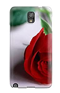 CaseyKBrown FBSxrpB7863lReus Case Cover Galaxy Note 3 Protective Case Cool Rose Flower
